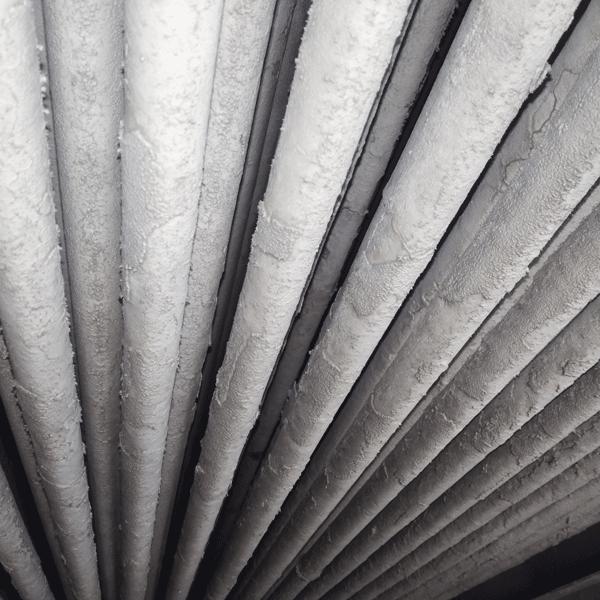 Soğutma kulesi boru üzeri kireç