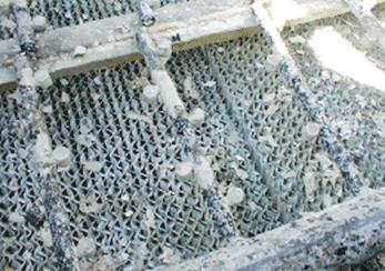 Kule dolgusunda kireç ve katılar